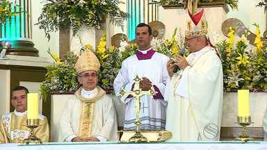 Novo bispo é empossado na Diocese de Estância - Novo bispo é empossado na Diocese de Estância.