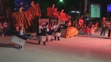 Festival Folclórico movimento Presidente Figueiredo, no AM - Evento foi realizado no fim de semana.