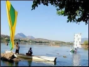 São Fidélis, no RJ, recebe competição de barco - A competição é em homenagem a escritora Rita Abreu Maia.