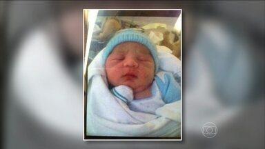 Bebê de 17 dias é roubado no Rio - O recém-nascido foi levado do colo da mãe, A mulher que sumiu com a criança estava acompanhada de uma adolescente, que já foi identificada pela polícia. Segundo a mãe, a mulher que roubou o bebê se apresentou como agente de talentos.