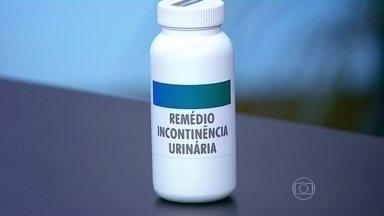 Remédio pode ser usado em caso de incontinência urinária por urgência - O ginecologista José Bento explica que, em alguns casos, é recomendado o uso de um medicamento, que provoca o relaxamento da musculatura responsável pela micção.