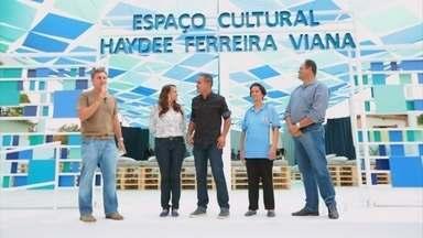 Banda do interior de Minas ganha sede e instrumentos musicais no Caldeirão - Sargentinho se emociona ao ver nova sede da banda