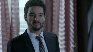 Império - Capítulo de quinta-feira, dia 04/09/2014, na íntegra - José Pedro pede demissão e decide conversar com José Alfredo
