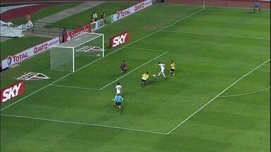 São Paulo vence o Criciúma e avança na Sul-Americana - Tricolor faz 2 a 0 no Morumbi e está nas oitavas de final