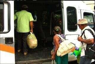 População reclama dos constantes assaltos no transporte alternativo do Cariri - Polícia afirma que está trabalhando para coibir os assaltos nos coletivos.
