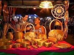 Capim dourado é um dos produtos mais típicos das feiras de Palmas - Capim dourado é um dos produtos mais típicos das feiras de Palmas