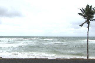 Ventos fortes alteram a rotina em Salvador - A força do vento foi quatro vezes maior do que a média na capital baiana.
