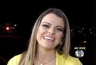 Ana Paula Valadão fala sobre show do Minsitério Diante do Trono em Montes Claros - Cantora disse ainda que Ministério prepara novo CD para setembro.