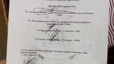 Assinado documento que isenta julgamento de vereador em Rio Grande, RS - Profissional teria feito discurso polêmico sobre negros e brancos.