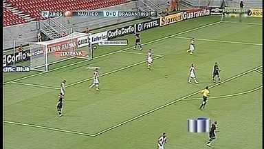 Bragantino empata com o Náutico - Partida foi válida pela Série B do Brasileiro.