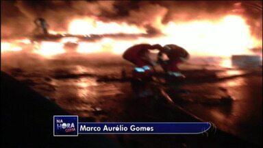 Três caminhões se envolvem em acidente na BR-277 em Morretes - Uma pessoa morreu.
