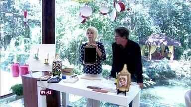 Aprenda truques fáceis e baratos de decoração - Ana Maria e Jairo De Sender mostram dicas para fazer em casa