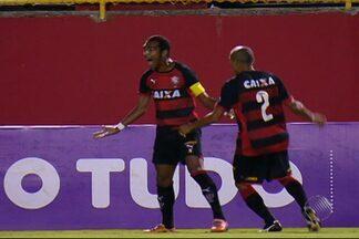 Vitória deixa a lanterna do Brasileirão após 2 X 0 com direito a golaço de Richarlyson - Confira as notícias do rubro-negro baiano.