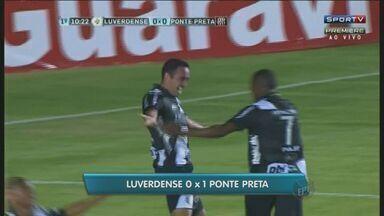 Ponte Preta volta vencer na série B do Campeonato Brasileiro - O resultado de 1 a 0 sobre o Luverdense retomou o fôlego do time. A Macaca já teve vantagem aos 10 minutos do primeiro tempo, quando o zagueiro Tiago Alvez marcou o gol da vitória.