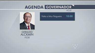 Candidatos ao Governo de São Paulo cumprem suas agendas políticas - Eles conversaram com eleitores e concederam entrevista para a imprensa.