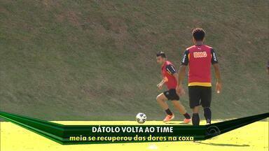 Atlético-MG enfrenta má fase do ataque - Jô não marca há 19 partidas.