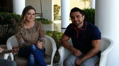Bloco 3: Papo com Ana Gabriela, destaque da música católica - Artista fala sobre influências e dá palhinha de sucesso.