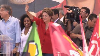 Presidente Dilma faz campanha em BH e Região neste sábado (13) - Candidata foi a Nova Lima e na Região da Pampulha
