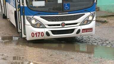 Desafio mostra dificuldades encontradas por motoristas de ônibus, em Campina Grande - Ação foi promovida por órgãos ligados ao Comitê de Mobilidade Urbana