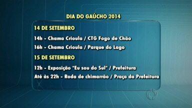 Começa neste domingo a programação da Semana do Gaúcho em Guarapuava - Até o dia 21 de setembro estão previstas várias atividades na cidade.