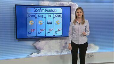 Veja a previsão do tempo para a região de Ribeirão Preto, SP - Confira como fica o clima durante o final de semana.
