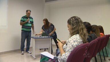 Reunião define ordem de entrevistas de candidatos no Amazonas TV e G1 - Debate será dia 30 de setembro; entrevistas começam nesta segunda (13). Carlos Tramontina, apresentador do SP TV, será o mediador do debate.