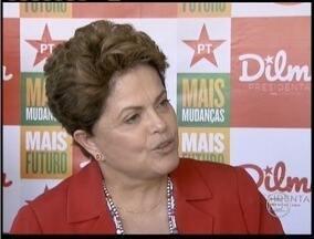 Dilma Roussef, candidata à reeleição, cumpre compromissos de campanha em Minas - Pela manhã, esteve em Nova Lima.