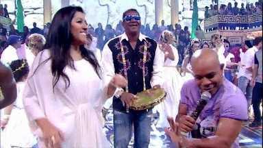Música boa! Terra Samba canta 'Liberar Geral' - Convidados e plateia se divertem com clássico do Axé