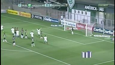 Braga aproveita crise do América-MG, bate rival e se afasta do Z-4 da Série B - Em jogo equilibrado, Bragantino faz 2 a 0 e abre vantagem para degola. Coelho amarga quarta derrota consecutiva e se afunda na lanterna.