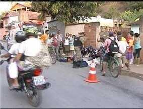Motociclista fica gravemente ferido em acidente Teófilo Otoni - Acidente aconteceu no bairro São Jacinto.