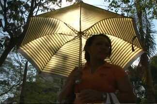 Temperatura chega aos 38 graus em Barreiras - Tempo seco e calor afetam a região oeste do estado.
