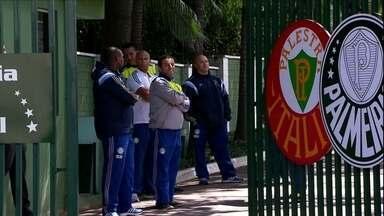 De volta após goleada, Palmeiras reforça segurança, mas não encontra torcida - Na lanterna do Brasileiro, Verdão terá confronto direto com o Vitória pela frente
