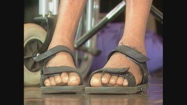 Programa mostra drama de morador de Guajará-Mirim, portador de uma doença rara - Doença popularmente chamada de Ela.