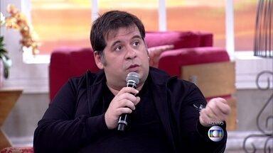 Hassum revela detalhes da operação de estômago que fará em novembro - 'Se pegar meus exames, ninguém diz que eu sou gordo', pondera o ator