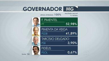 Depois de 12 anos de governo do PSDB, Fernando Pimentel (PT) é eleito governador de MG - Petista é ex-prefeito de Belo Horizonte e ex-ministro.