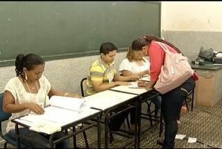 Milhares de eleitores votaram neste domingo em Montes Claros - Trabalhos começaram cedo, para garantir a ordem e segurança.