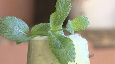 'Prato Feito' ensina sucos especiais - Combinação para as crianças é de kiwi com melão.