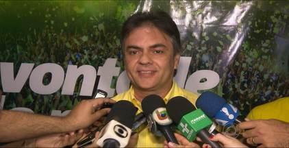 Cássio Cunha Lima comemorou em Campina Grande - O candidato ao Governo do Estado festejou com eleitores e correligionários.