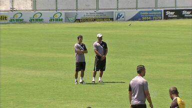 Eleição de treinamento para o time do Ceará - Com foco no G-4, alvinegro treina de olho no Sampaio Corrêa