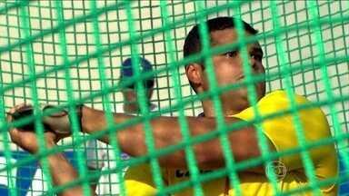 Wagner Montanha bate recorde brasileiro no Troféu Brasil de Atletismo - Brasileiro bate recorde pela quinta vez no lançamento de martelo.