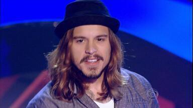 Conheça o gaúcho que entrou no The Voice Brasil - Kim Lírio é o segundo gaúcho a participar dessa edição do programa.
