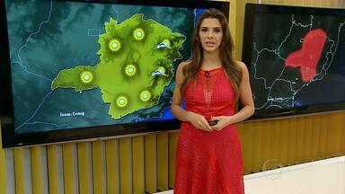 Fim de semana será de sol e calor em Minas - Neste sábado, termômetros devem chegar a 30ºC em BH.