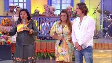 Preta Gil comenta laço familiar com Rômulo Neto - Cantora se declara e diz que ele é muito importante para o filho dela, Francisco. Assista!