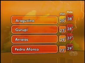 Veja a previsão do tempo para esta segunda-feira (13) no Tocantins - Veja a previsão do tempo para esta segunda-feira (13) no Tocantins
