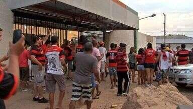 Time de masters do Flamengo joga contra seleção de Cuiabá - Time de masters do Flamengo joga contra seleção de Cuiabá