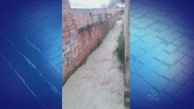 Fortes chuvas assusta famílias da Zona Leste de Manaus - Segundo eles a infraestrutura é precária.