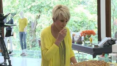 Confira como é feita a aprovação das receitas por Ana Maria Braga - Apresentadora participa da escolha dos pratos que vão ao ar