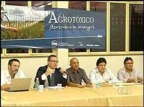 Caravana do Trabalho discute impacto na utlização de agrotóxicos no norte do Tocantins - Caravana do Trabalho discute impacto na utlização de agrotóxicos no norte do Tocantins