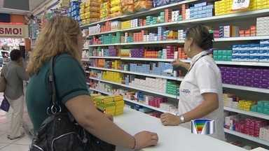 Preço do remédio varia até 800% nas drogarias de São José, diz Procon - Pesquisa foi realizada em 23 farmácias de Caçapava, Jacareí e São José dos Campos.