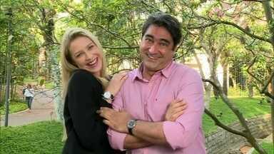 Luana Piovani comenta papel em seriado e parceria com Gagliasso - Atriz analisa a personagem Vera de Dupla Identidade